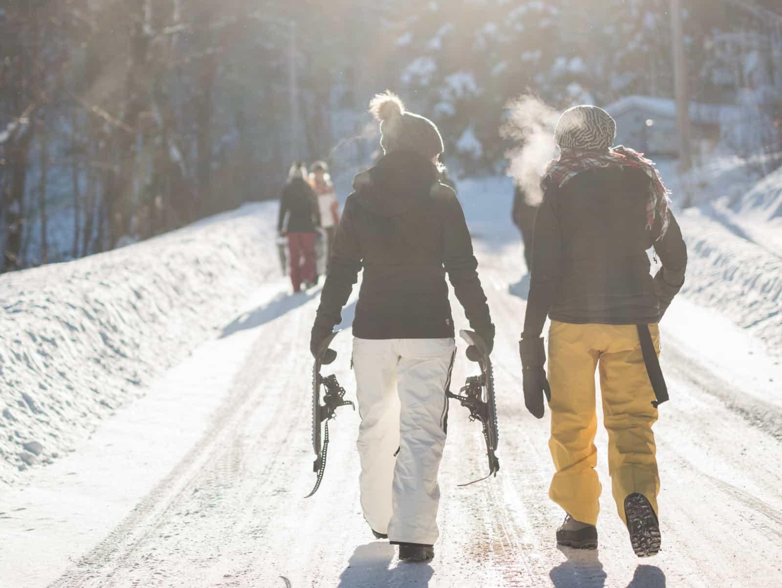Snowshoeing in Taos