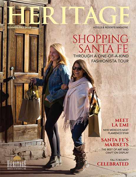 Shopping Santa Fe Through a One-of-a-kind Fashionista Tour | Heritage Hotels & Resorts Magazine Summer Fall 2018