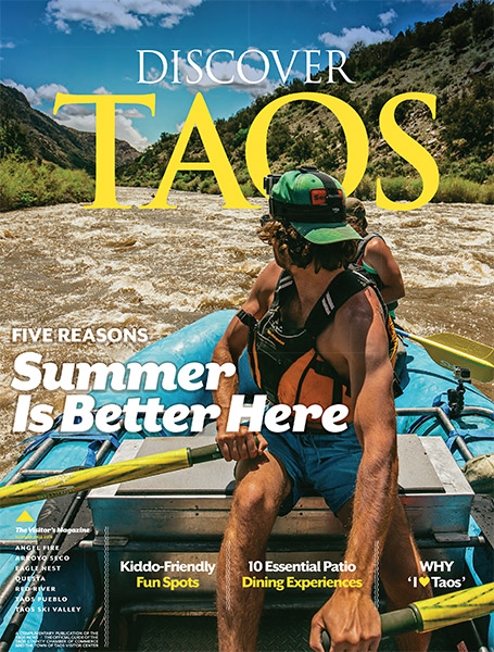 Escaping Noise in Style: Taos is Glamping Central in Northern New Mexico| Discover Taos Summer Guide May 2019