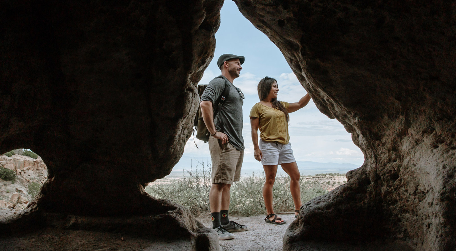 Hiking Tour in Bandelier National Monument