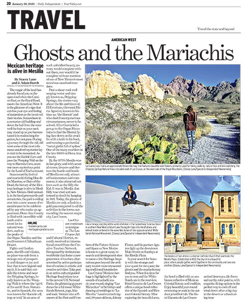 Ghosts and the Mariachis: Mexican heritage is alive in Mesilla | Daily Independent | YourValley.net January 2020