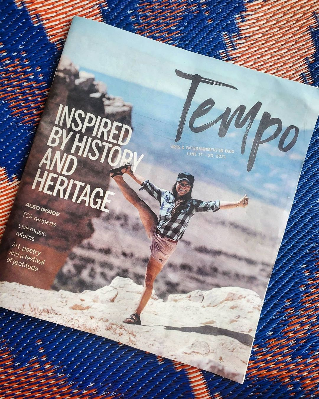 Inspired by history and heritage: Angelisa Espinoza Murray takes on high country | Tempo June 2021